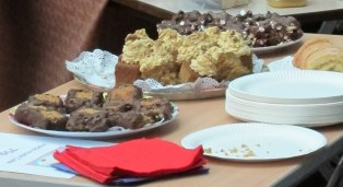 Cakes disappearing...