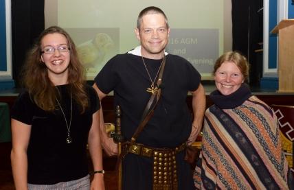 Katrina, Ben Kane and Jenny LSA CA