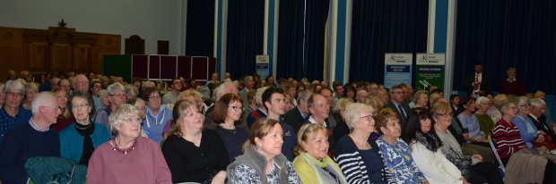 Audience at Natalie Haynes Lecture