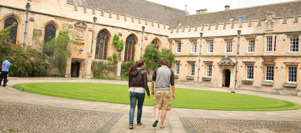 St Johns College quad