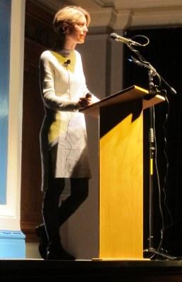 Dr Caroline Vout at LSA CA Sept 2017 2