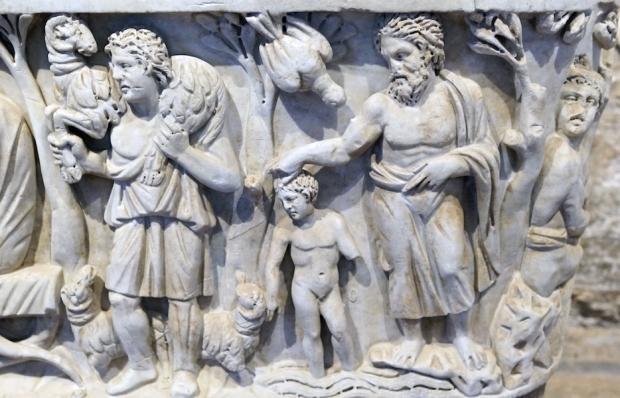 Santa Maria Antiqua sarcophagus