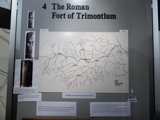 Trimontium Map