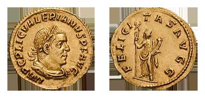 Aureus of Valerian