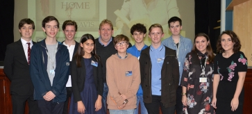 Dr Harry Sidebottom and LSA CA student members