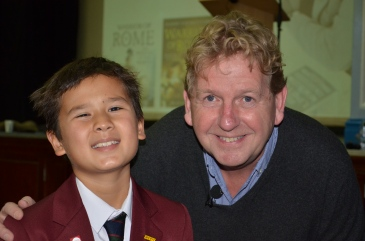 Jonah Crouch and Dr Harry Sidebottom