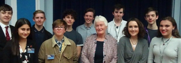 Dr Margaret Mountford and Ambassadors