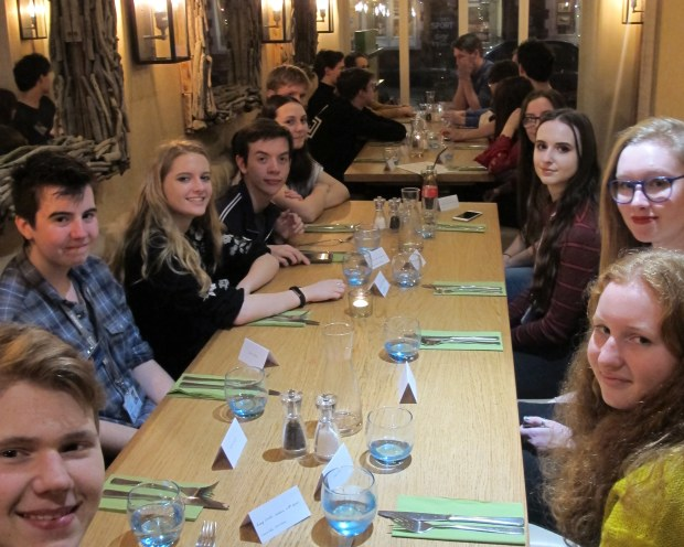 Student Members of the LSA CA at Celebration Meal Jan 2018.jpg