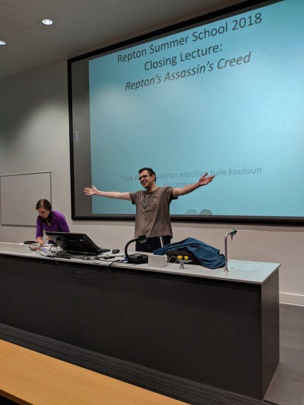Repton Last Lecture 2018