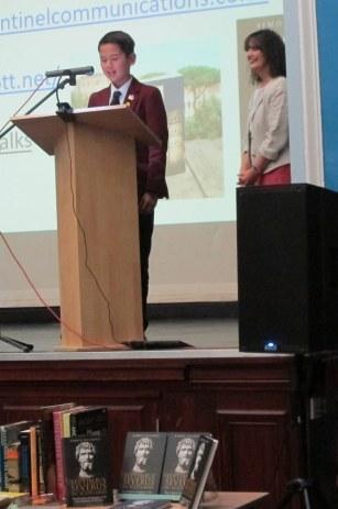 Jonah's thank you speech at Simon Elliott's Lecture at LSA CA