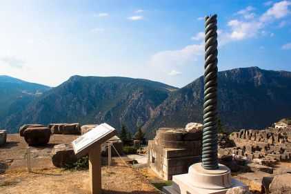 Delphi_Tripod_(Replica_of_Serpent_Column)_(28256341592)