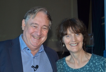 Professor Andrew Wallace-Hadrill and Jayne Kelly LSA CA
